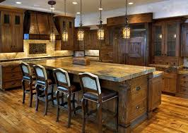 Awesome Rustic Pendant Lighting Kitchen For Bar Home Chandeliers