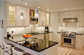 Off White Kitchen Cabinets With Dark Countertops