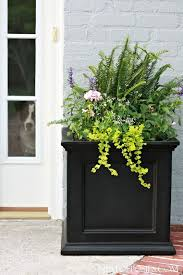 Front Porch Planters Best 25 Door Ideas On Pinterest 3
