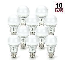 a19 led bulb 6w 45w equivalent e26 dimmable 3000k warm white 500