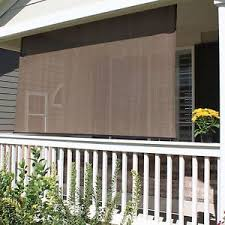 Diy Roll Up Patio Shades by Patio Sun Shade Screen Outdoor Roll Up Exterior Blind Deck