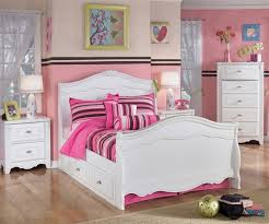 Full Size Bed With Trundle by Ashley Furniture Exquisite Trundle Sleigh Bed Kids Exquisite