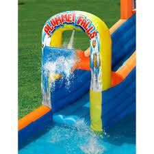 Walmart Canada Halloween Inflatables by Banzai Plummet Falls Adventure Water Slide Walmart Com