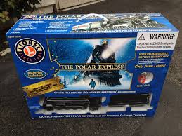 Best Real Christmas Tree Type Canada by The Polar Express Lionel G Gauge Scale Battery Train Under The