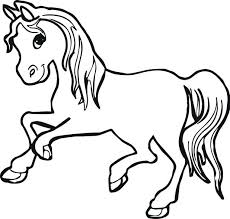 Coloring Pages Horses Printable Horse And Carriage Page Head