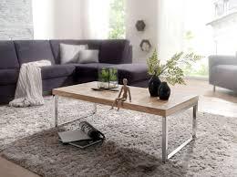 couchtisch guna massiv holz akazie 120 cm breit wohnzimmer tisch design dunkel braun landhaus stil beistelltisch