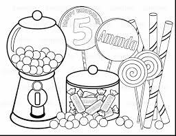 Fabulous Printable Candy Coloring Pages With Candyland And