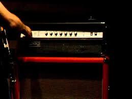 Ampeg V4 Cabinet For Bass by Ampeg V4 Vintage Bass Youtube