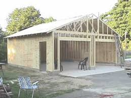 building your own 24 u0027x24 u0027 garage and save money steps from