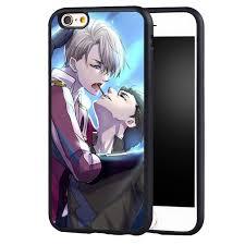 Victor Nikiforov Yuri Ice Anime Case Cover For iPhone 5 5C 5S