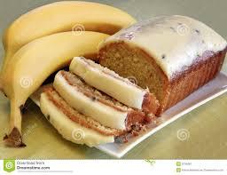 bananen kuchen stockbild bild bereift banane frisch