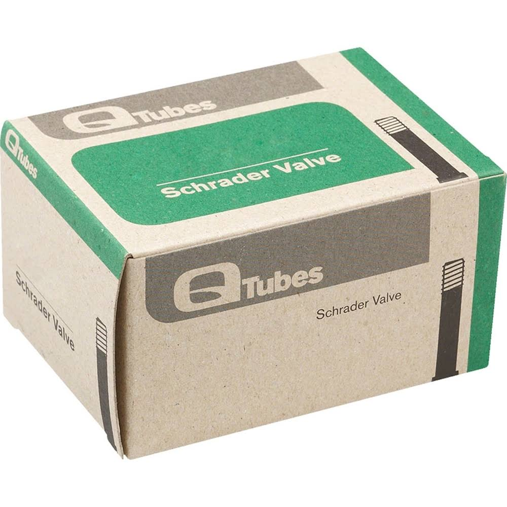 "Q-Tubes 20x2.8-3.0"" Tube: Low Lead Schrader Valve"