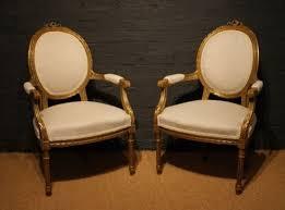 louis xvi chair antique a pair of late 19th century louis xvi antique gilt wood