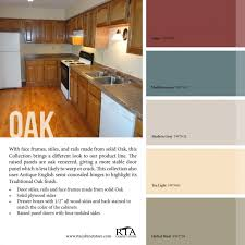 80 types astounding kitchen wall colors with oak cabinets pine