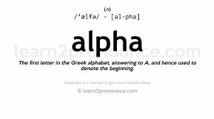 The Greek Alphabet Alpha Letter Logo EZ Canvas