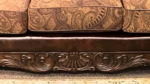 Claremore Sofa And Loveseat by Ashley Fresco Antique Sofa Youtube