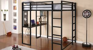 Ikea Loft Bed With Desk Assembly Instructions by Futon Twin Over Futon Bunk Bed With Mattress Included Twin Over