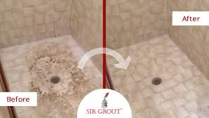 sir grout s tile cleaning and shower renewal is no sweat for one