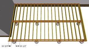 Floor Joist Span Table Deck by Deck Joist Spacing 12 Or 16 Deck Design And Ideas