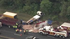 Deli Meat Truck Collides With Bread Truck On New Jersey Highway ... F250 60 Power Stroke Diesel Vs 4bt Cummins Bread Truck Tug O War Pittsburgh And Driver Cmoa Collection How A Small Public Radio Station Uses Bread Truck To Spark The Salvation Army Unveils Custom Jr Bed Eastern Food Guide Daily Buffalo News Looks Cool 1920 White Wonder Lake Park Fla Sept 2009 Bill Fry Feeds 1957 Chevy Grumman Olson Step Van Vintage Taystee Deli Meat Collides With On New Jersey Highway This Portlanddesigned Brings Parks The People Filebimbo Truckjpg Wikimedia Commons