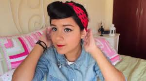 Rosie The Riveter Halloween Diy by Sparklife Hair And Makeup For Rosie The Riveter Costume