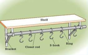 how to build the hanger rod pot rack home improvement and repair