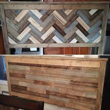 Ana White Headboard Plans by Ana White Rustic Two Sided King Headboard Diy Projects