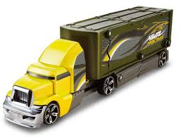 HOT WHEELS® Crashin' Big Rig - HW Racing Transporter - Shop Hot ... Hot Wheels Trackin Trucks Speed Hauler Toy Review Youtube Stunt Go Truck Mattel Employee 1999 Christmas Car 56 Ford Panel Monster Jam 124 Diecast Vehicle Assorted Big W 2016 Hualinator Tow Truck End 2172018 515 Am Mega Gotta Ckc09 Blocks Bloks Baja Bone Shaker Rad Newsletter Dairy Delivery 58mm 2012 With Giant Grave Digger Trend Legends This History Of The Walmart Exclusive Pickup Series Is A Must And
