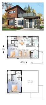 100 Modern House Blueprint Plan 76461 Total Living Area 924 Sq Ft 2 Bedrooms