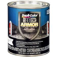 dupli color bed armor truck bed coating black 1 qt 434788