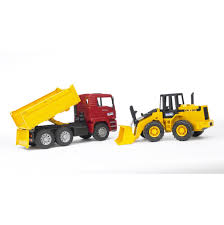 100 Bruder Tow Truck Man Tga With Cross Country Vehicle 2750 BD1479