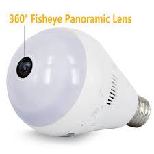 loras dome home motion sensor security light led bulb