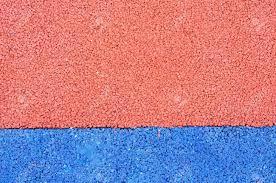 Texture Of Color Rubber Floor On Playground Ethylene Propylene