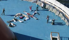 Carnival Paradise Cruise Ship Sinking Pictures by Cruise Passenger People Thought Ship Was