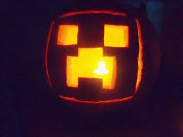 Peter Pan Pumpkin Stencils Free by Minecraft Pumpkin Hailee Would Love This Halloween Pinterest