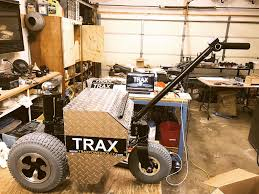Easy RV Trailer Moving With The Help Of TRAX TX6000 Power Dolly ...