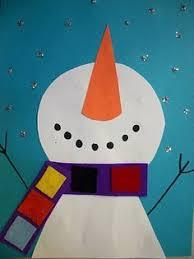Spring Paper Crafts For Kindergarten Winter Craft