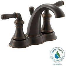 kohler centerset home faucets ebay