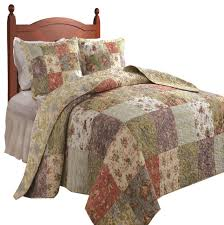 Bed Quilts Queen by Greenland Home Blooming Prairie Bedspread Set 3 Piece Full