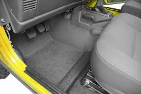 Quadratec Vs Rugged Ridge Floor Liners by Bedrug Bedtred Premium Molded Floor Covering Kit With Cutouts For