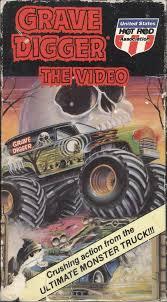 100 Monster Truck Grave Digger Videos The Video 1990 VHScoverART