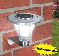 solar yard lights lumiparty outdoor solar power wall l