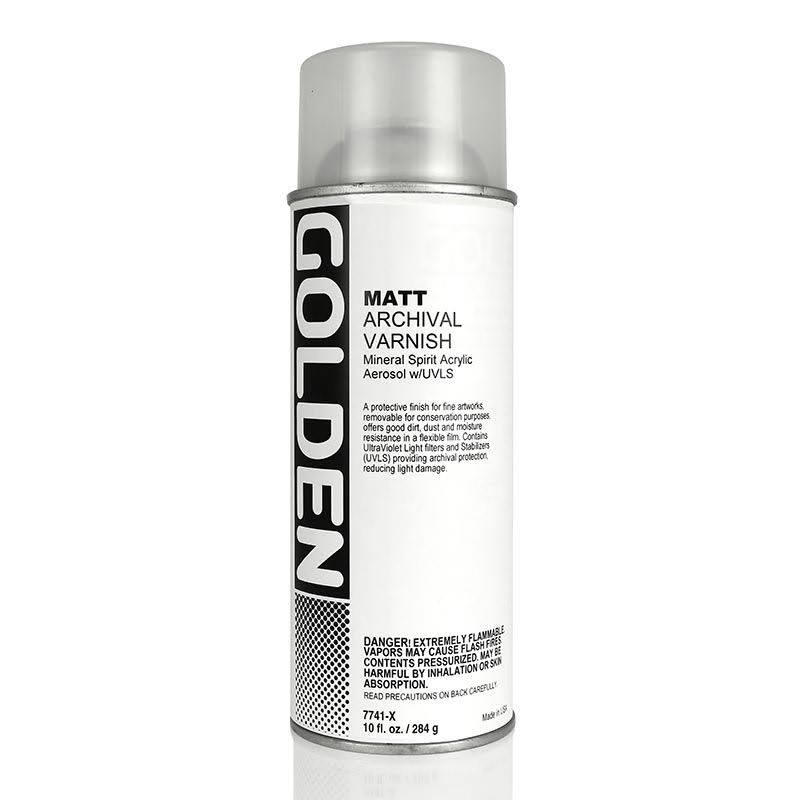 Golden Archival Varnish Matte 10 oz Spray