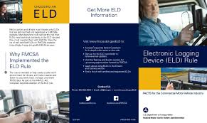 ELD Brochure | Federal Motor Carrier Safety Administration Nys Article 19a Physicals Dot Fmcsafaauscgresregulations Grants Waiver To Livestock Haulers Livestock Capitalpresscom Ooida Asks Fmcsa Institute Pause Button For 14hour Clock Carriers Exempt From Cali Break Laws Cdl Downgrades What You Can Do About It Dotphysicalblogqueens Nyc Truckers Take On Trump Over Electronic Logging Device Rules Wired Eld Hos Compliance In 2018 Key Tips For Drivers And Classa Driving Your Health Raises Fines Vlation Of Truck Regulations 4 Cmv Chapter Six Medications Commercial Driver Medical