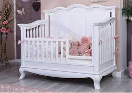 Cribs That Convert To Toddler Beds by Cleopatra Solid Panel Convertible Crib By Romina Furniture