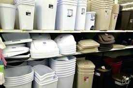 Trash Cans Can Selection Wal Mart Small Kitchen Garbage Best