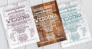 Photoshop Rustic Eco Wedding Invitation