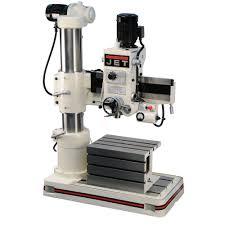 Floor Mount Drill Press by 320033 Jet J 720r 3 U0027 Arm Radial Drill Press 230 460v