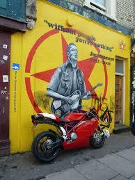 Joe Strummer Mural Portobello Road by 81 Best Joe Strummer U0026 The Clash Images On Pinterest Joe