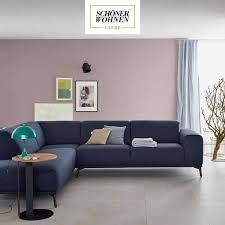 vorhang auf für einen raum in drei schöner wohnen farbe